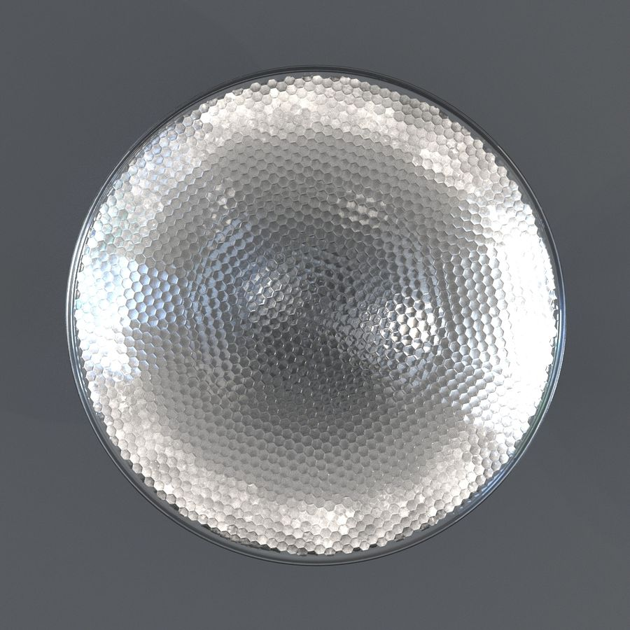 Bombilla de luz de inundación Modelo 3D royalty-free modelo 3d - Preview no. 6