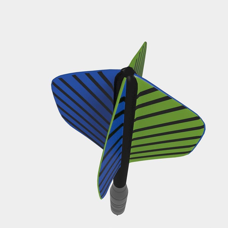 Dardo royalty-free 3d model - Preview no. 7
