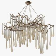 Louise Bradley - Ophelia chandelier 3d model