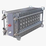 Стек топливных элементов 3d model