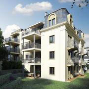 老德国建筑2 3d model
