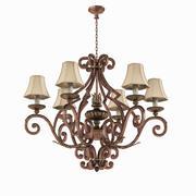 Fine Art Lamps 837140ST Stile Bellagio Chandelier 3d model