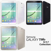 Samsung Galaxy Tab S2 9.7 Collection 3d model