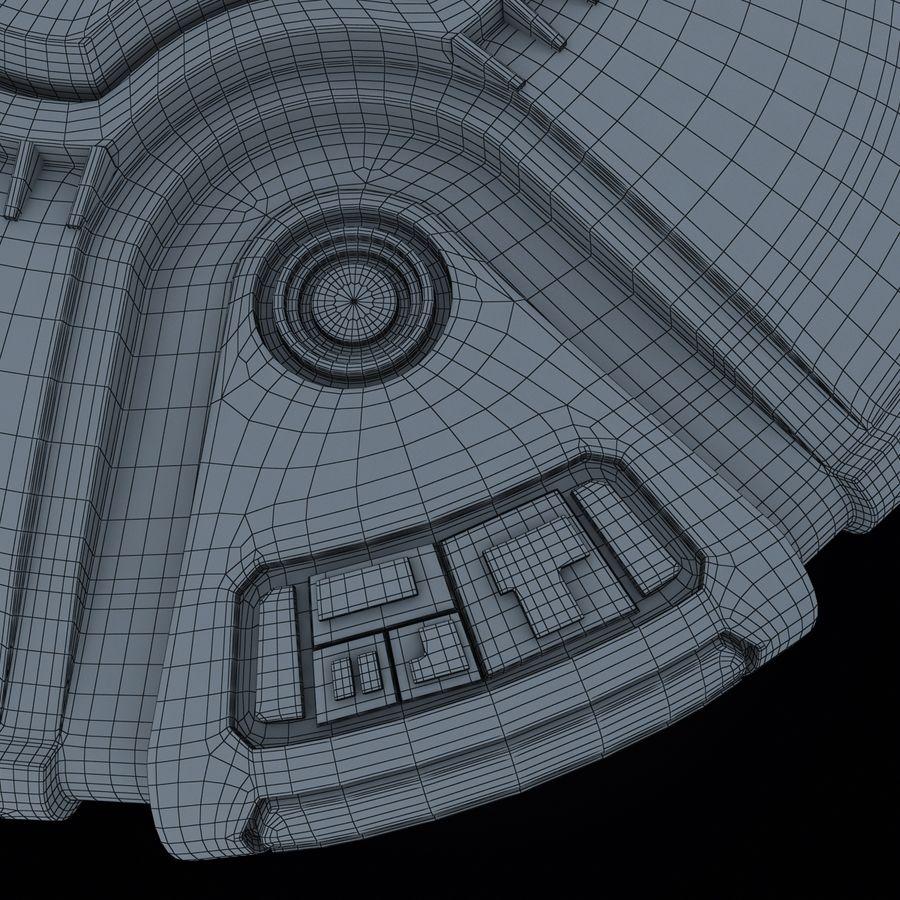 Bilim Kurgu UFO royalty-free 3d model - Preview no. 22