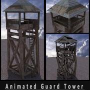 Animowana Wieża Strażnicza 3d model