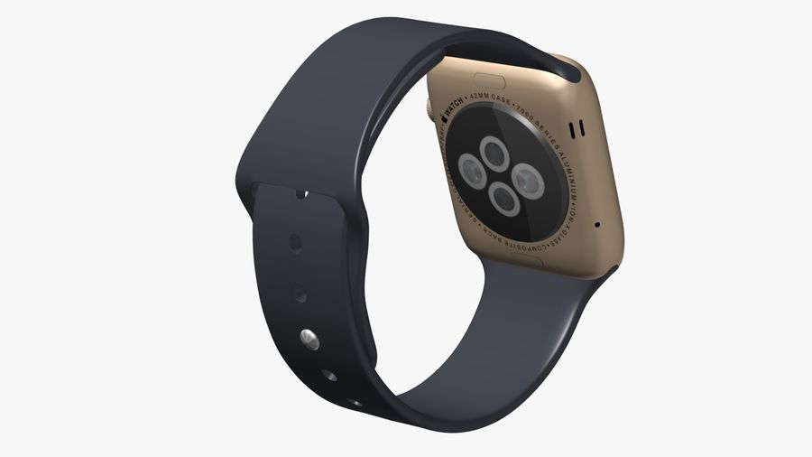 Apple Watch royalty-free 3d model - Preview no. 4