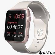 Apple Watch Pink 3d model