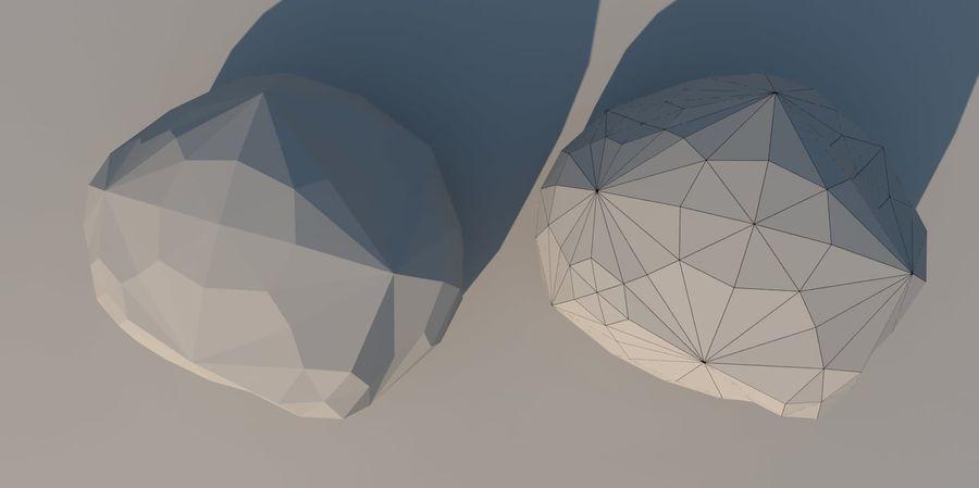 Низкополигональная Пейзаж royalty-free 3d model - Preview no. 24