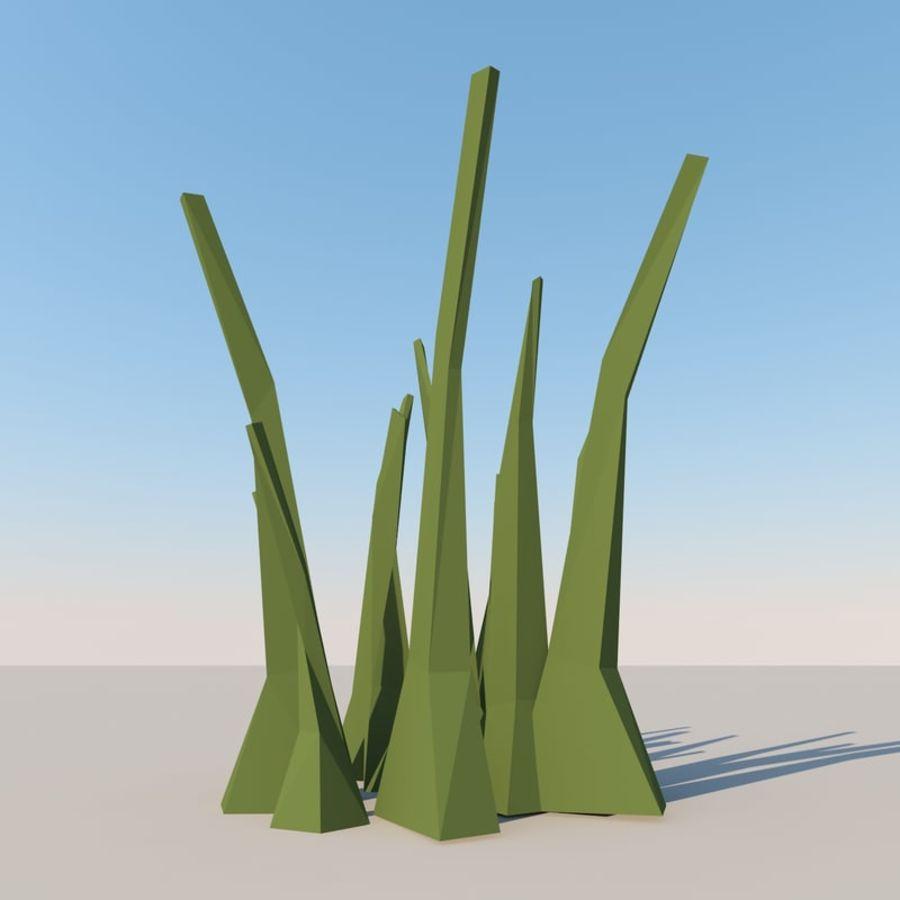 Низкополигональная Пейзаж royalty-free 3d model - Preview no. 12