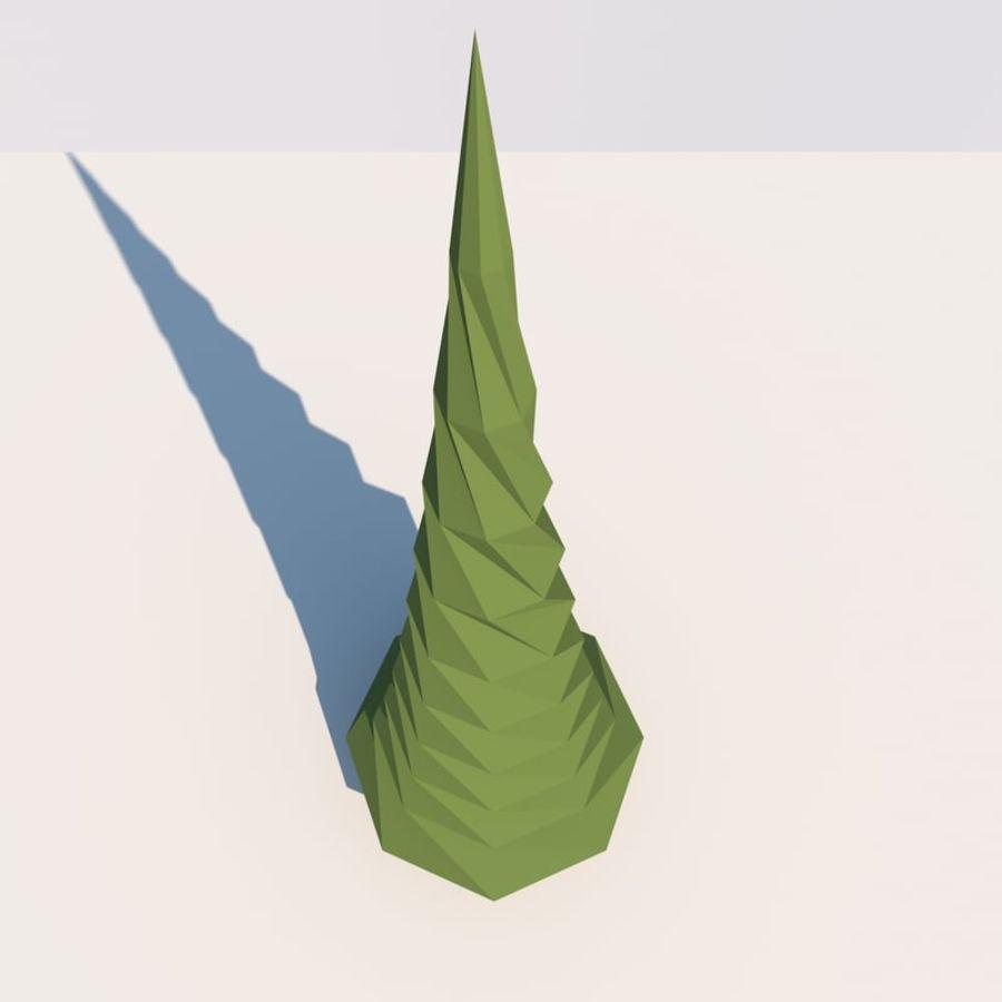 Низкополигональная Пейзаж royalty-free 3d model - Preview no. 18