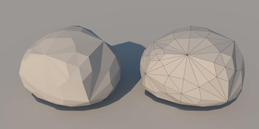 Низкополигональная Пейзаж royalty-free 3d model - Preview no. 23