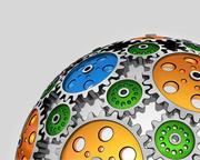 Set di attrezzi per sfere animati 3d model