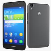 Huawei Y6 Smartphone 2015 3d model