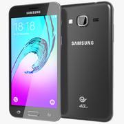 Samsung Galaxy J3 Black 3d model