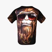 星球大战T恤 3d model