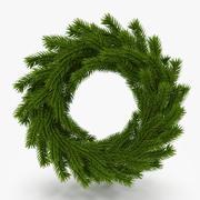 Christmas Wreath 15 3d model