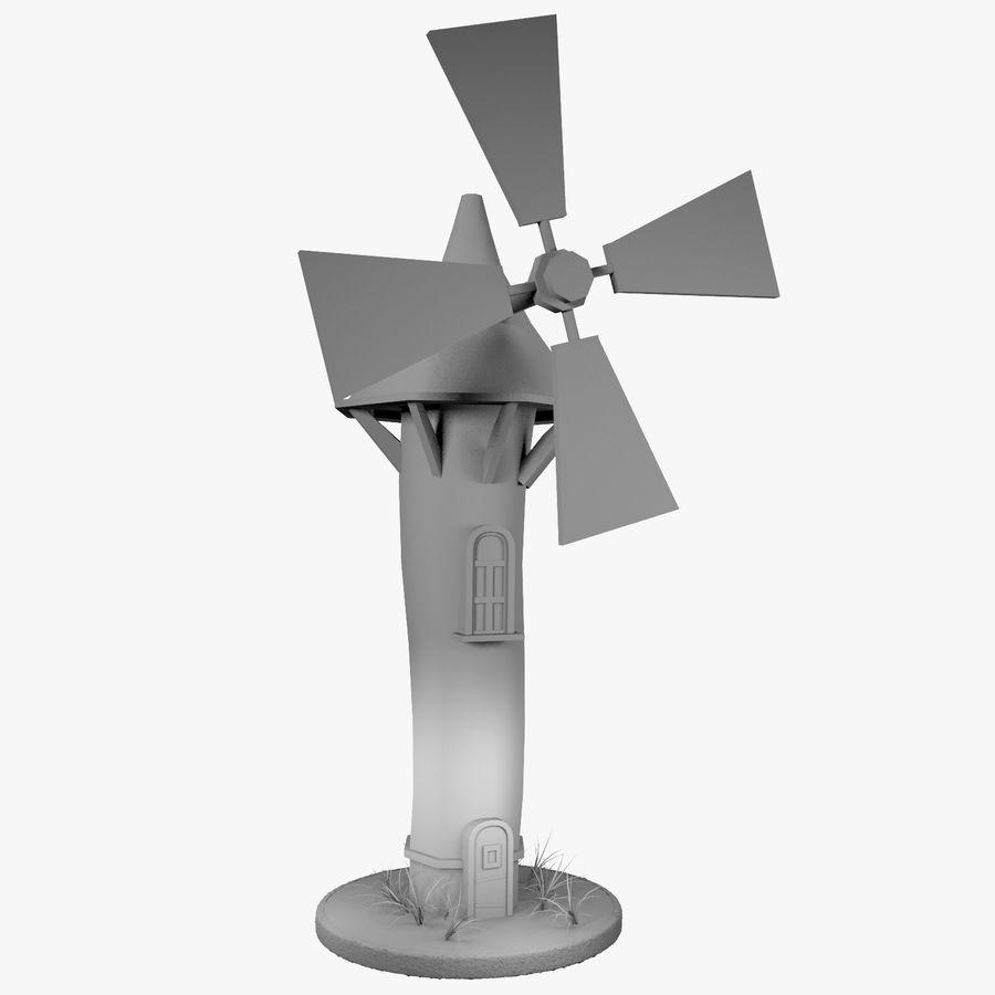 Cartoon Windmill 3D Model $39 - .max .obj .fbx .3ds - Free3D