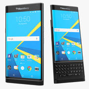 Blackberry Priv Android Smartphone 2015 3d model