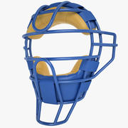Catchers Face Mask 01 3d model