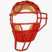 Catchers Face Mask 03 3d model