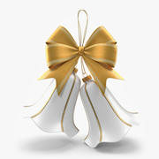 Weihnachten weiße Glocken 3d model