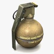 Grenade M67 Prêt pour le jeu 3d model