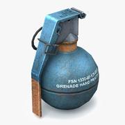 Grenade M 69 Prêt pour le jeu 3d model