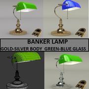 BANKERS LAMP 3d model