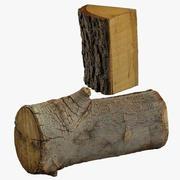 Wood Log Collection 3d model