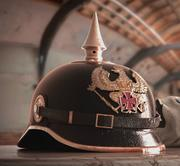 German WW1 Helmet Pickelhaube 3d model