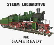 Dampflokomotive PBR 3d model