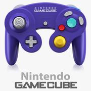 Gamecube controller Nintendo 3d model