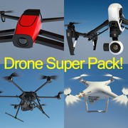 CRAZY PRICE Drones / Quad Super Pack 3d model