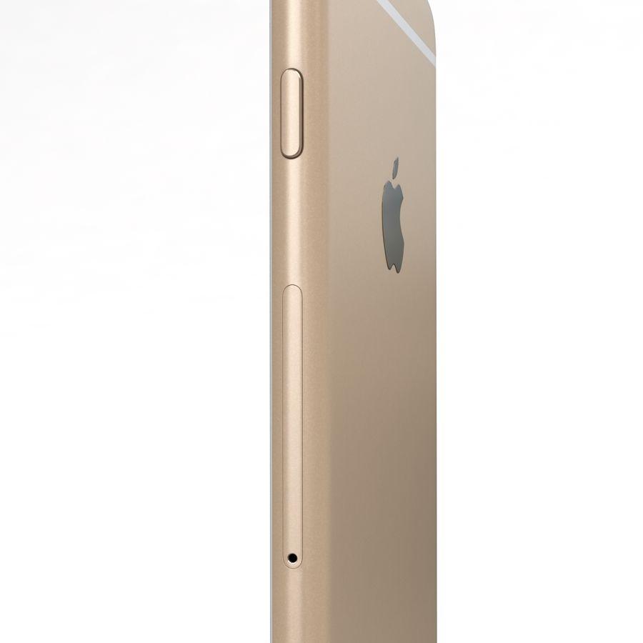 Apple iPhone 6s Artı Altın royalty-free 3d model - Preview no. 18