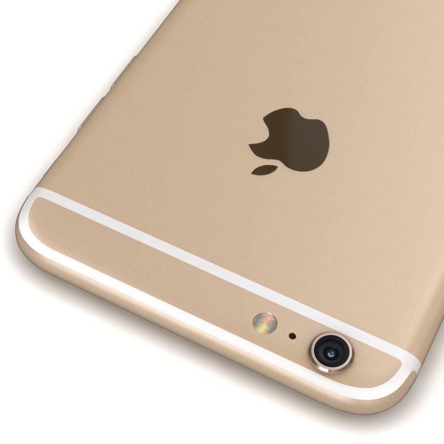 Apple iPhone 6s Artı Altın royalty-free 3d model - Preview no. 14