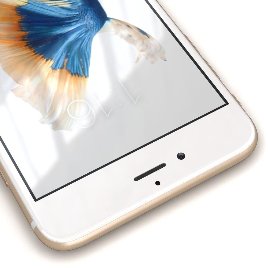 Apple iPhone 6s Artı Altın royalty-free 3d model - Preview no. 10