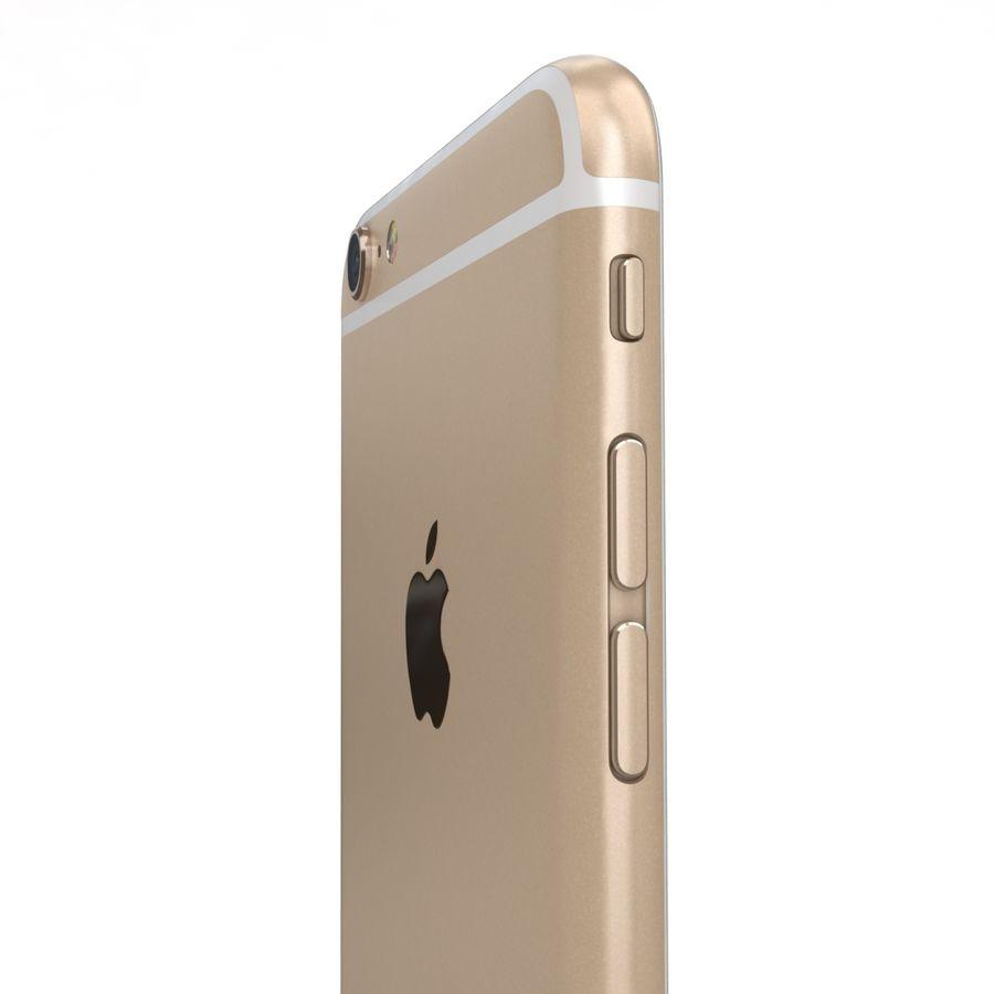 Apple iPhone 6s Artı Altın royalty-free 3d model - Preview no. 19