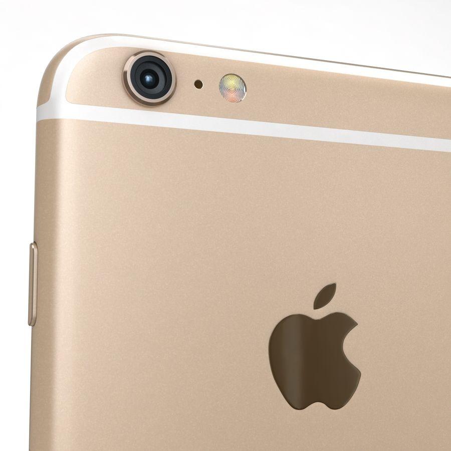 Apple iPhone 6s Artı Altın royalty-free 3d model - Preview no. 20