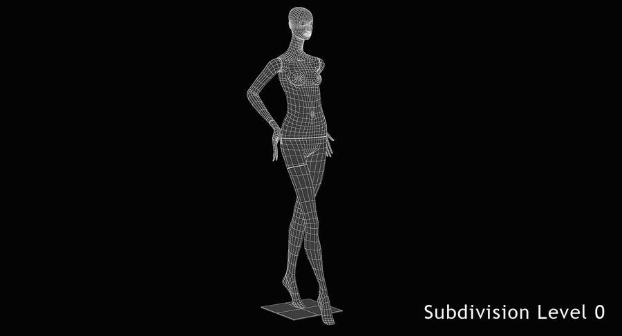 Pose de manequim distante Bonaveri royalty-free 3d model - Preview no. 9