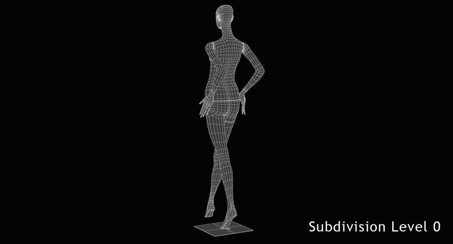 Pose de manequim distante Bonaveri royalty-free 3d model - Preview no. 11