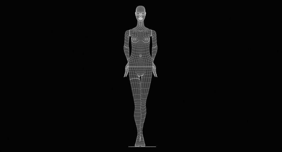 Pose de manequim distante Bonaveri royalty-free 3d model - Preview no. 16