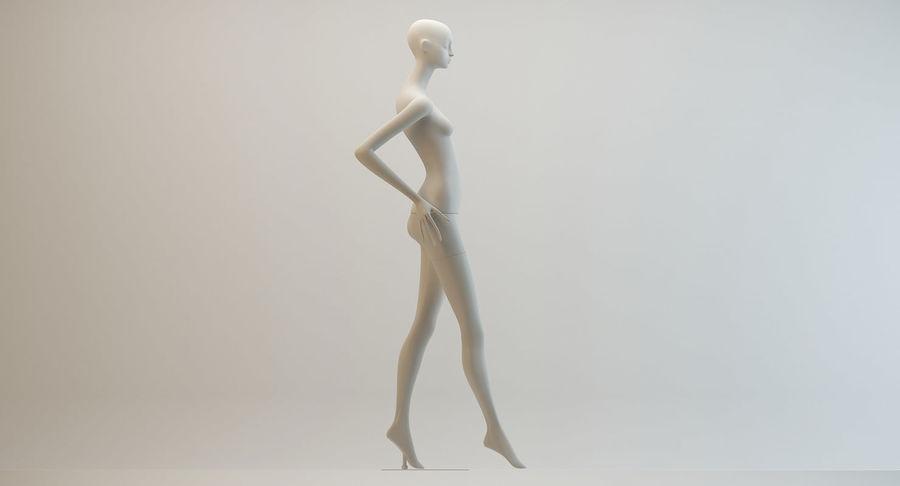 Pose de manequim distante Bonaveri royalty-free 3d model - Preview no. 7