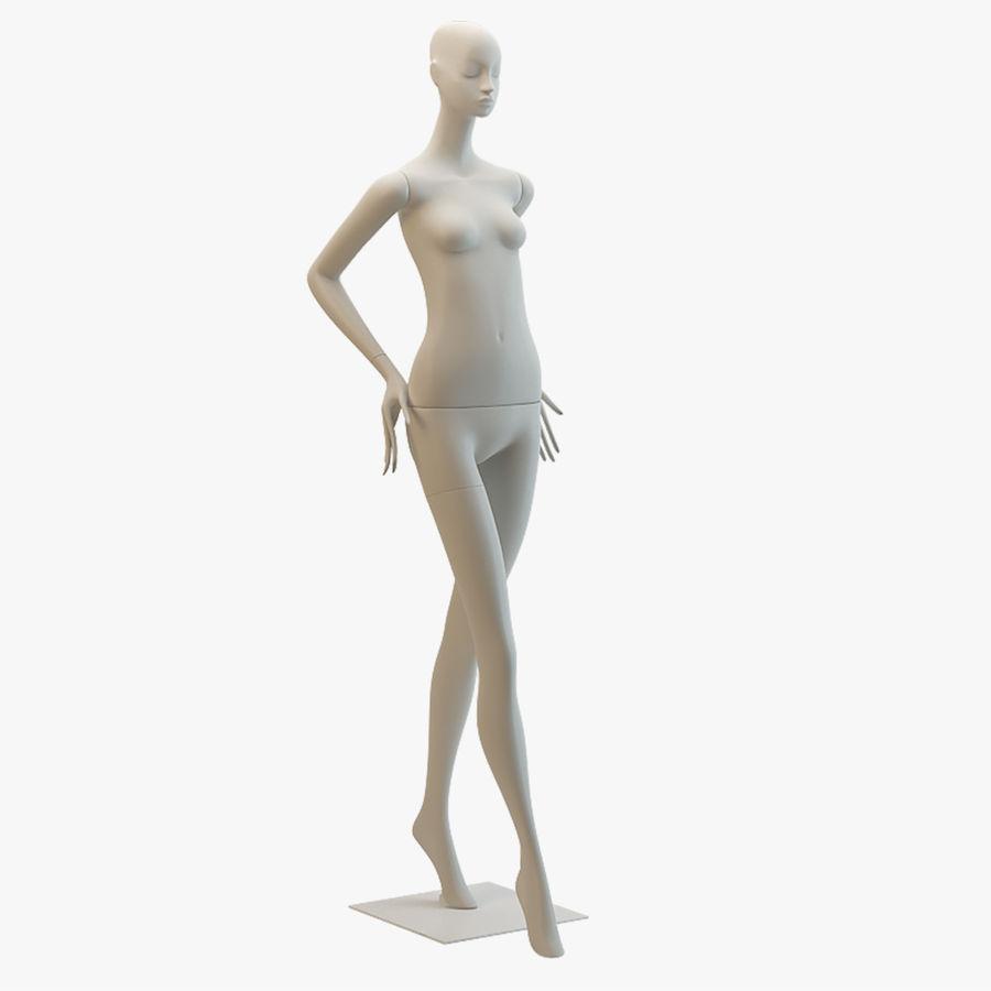 Pose de manequim distante Bonaveri royalty-free 3d model - Preview no. 1