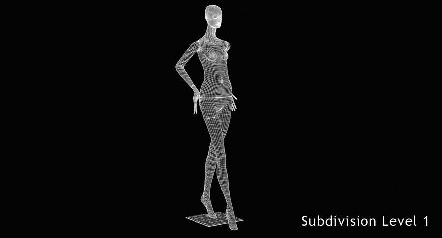 Pose de manequim distante Bonaveri royalty-free 3d model - Preview no. 10