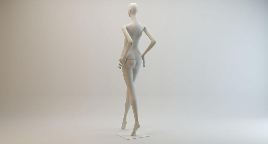 Pose de manequim distante Bonaveri royalty-free 3d model - Preview no. 4