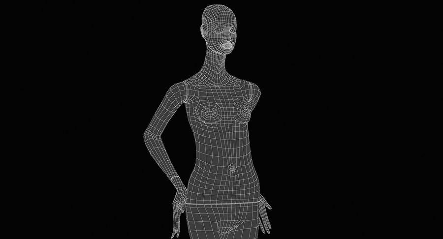 Pose de manequim distante Bonaveri royalty-free 3d model - Preview no. 13