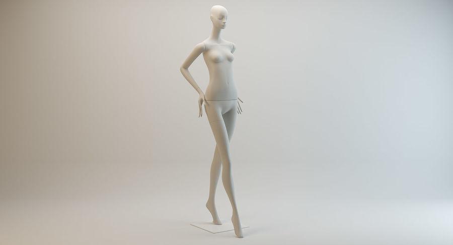 Pose de manequim distante Bonaveri royalty-free 3d model - Preview no. 3