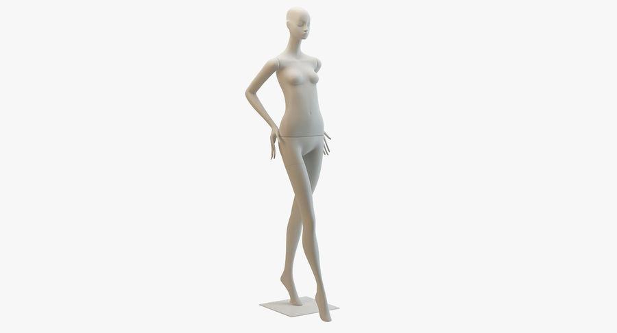 Pose de manequim distante Bonaveri royalty-free 3d model - Preview no. 2