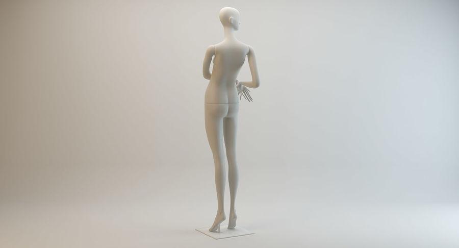 Pose de manequim distante Bonaveri C royalty-free 3d model - Preview no. 4