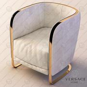 A poltrona Herald da Versace 3d model